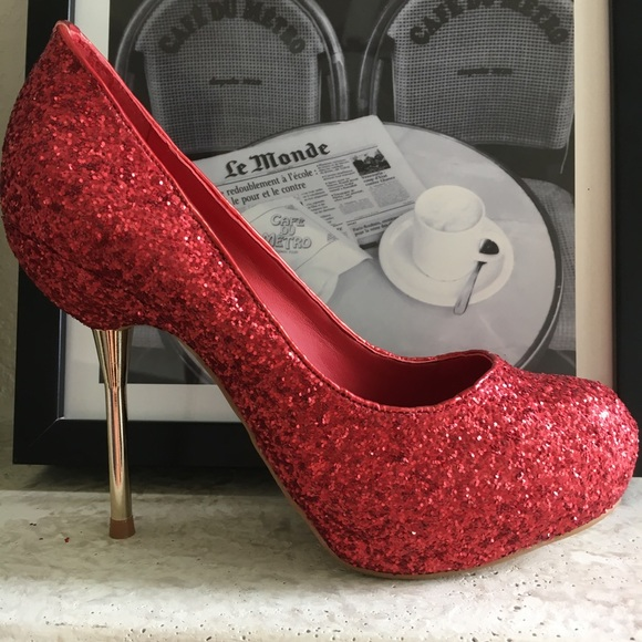 d454b614a99c 👠BEST PRICE no offer.Top Heels Co Sofia Red Pumps